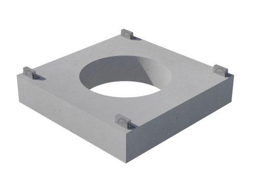 Piastre quadrate