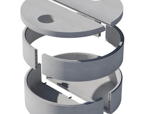 Vasche modulari diametro 300